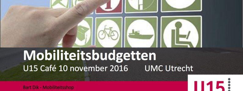 presentatie mobiliteitsbudget u15