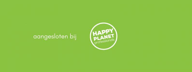 aangesloten bij Happy Planet Professionals