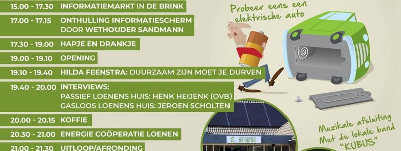 programma duurzaamheidsdag Loenen 2019